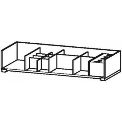 Duravit XSquare organizer do szafki 98,4 cm klon UV985707878