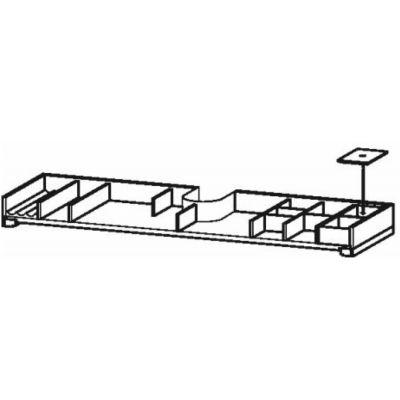 Duravit XSquare organizer do szafki 118,4 cm klon UV986407878