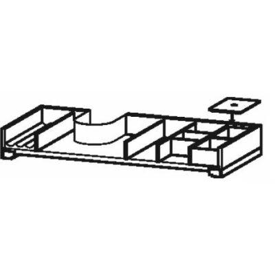 Duravit L-Cube organizer do szafki 82 cm klon UV999507878
