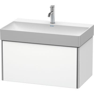 Duravit XSquare szafka 78,4 cm podumywalkowa wisząca biały mat XS406201818