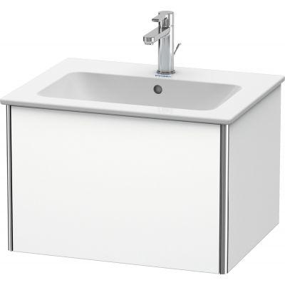 Duravit XSquare szafka 61 cm podumywalkowa wisząca biały mat XS407101818