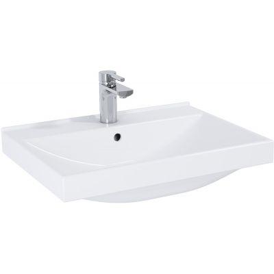 Elita Maxxi umywalka 61x46 cm meblowa prostokątna biała 145805