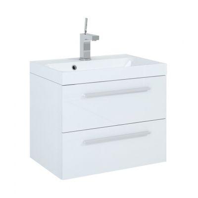 Elita Kwadro szafka 60 cm podumywalkowa biała 162324