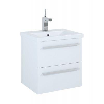 Elita Kwadro szafka podumywalkowa biała z umywalką 50 cm 165363