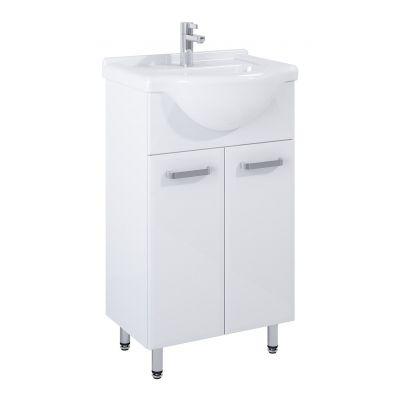 Elita Amigo zestaw umywalka 50 cm z szafką stojącą biały 165409