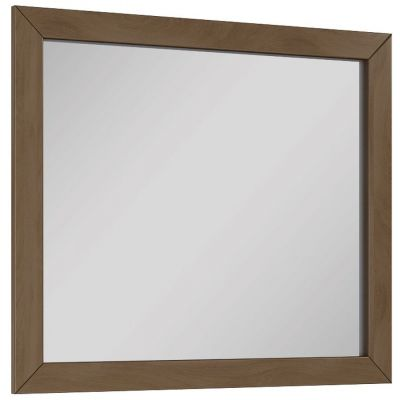 Elita Santos Oak lustro 80x70 cm prostokątne tobak 166397