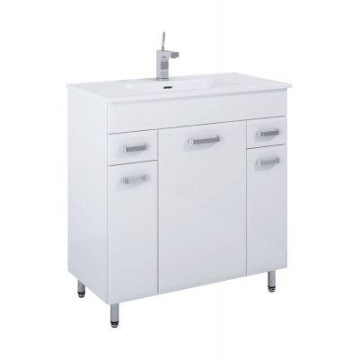 Elita Amigo zestaw umywalka 81 cm z szafką stojącą biały 166467