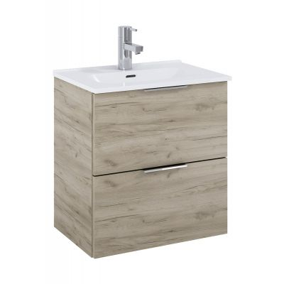 Elita Street Plus zestaw umywalka z szafką 50 cm dąb craft 166472