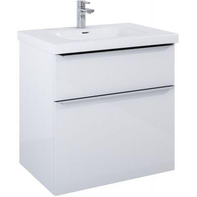 Elita Lofty szafka 70 cm podumywalkowa wisząca biały połysk 167026
