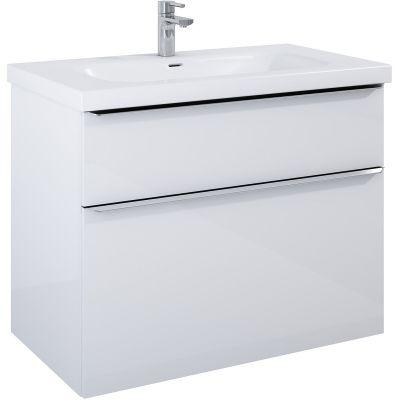 Elita Lofty szafka 90 cm podumywalkowa wisząca biały połysk 167027