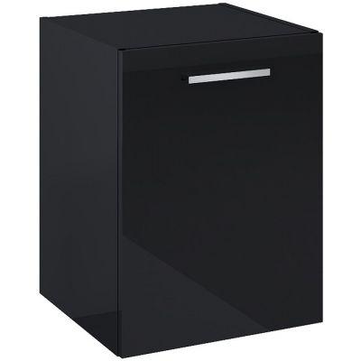 Elita Kwadro Plus komoda 40 cm wisząca boczna czarna 167653