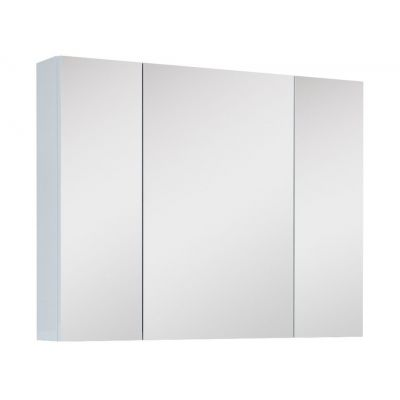 Elita szafka 80 cm wisząca z lustrem biała 904509