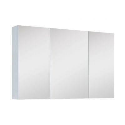 Elita szafka 100 cm wisząca z lustrem biała 904511