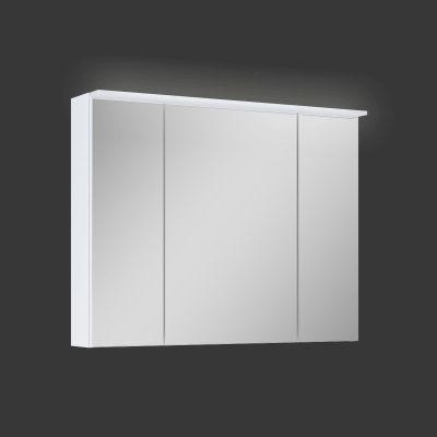 Elita Barcelona szafka 80 cm wisząca z lustrem i oświetleniem LED biała 904608