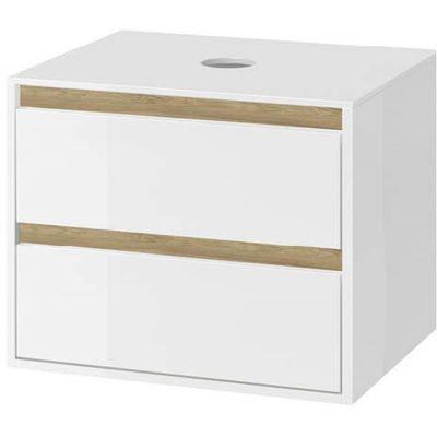 Excellent Tuto szafka 80 cm podumywalkowa wisząca biały połysk/dąb MLEX.0104.800.WHBL