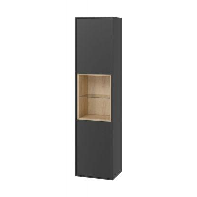 Excellent Tuto szafka boczna 160 cm słupek szary/dąb MLEX.0201.400.GRBL