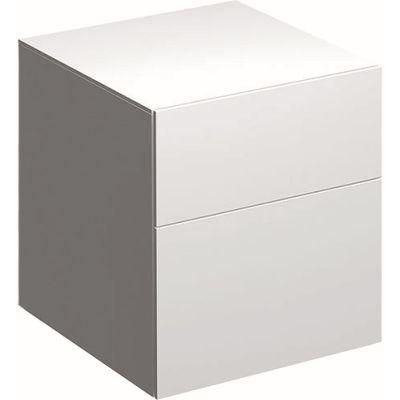 Geberit Xeno2 szafka 45 cm wisząca boczna biały połysk 500.504.01.1