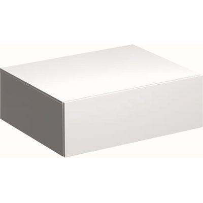 Geberit Xeno2 szafka 58 cm wisząca boczna biały połysk 500.507.01.1