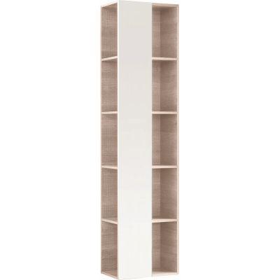 Geberit Citterio szafka 160 cm wisząca boczna z lustrem dąb beżowy 500.569.JI.1