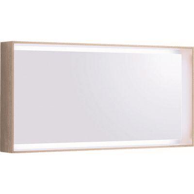 Geberit Citterio lustro 118x58 cm prostokątne z oświetleniem LED dąb beżowy 500.570.JI.1
