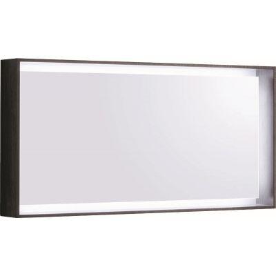 Geberit Citterio lustro 118x58 cm prostokątne z oświetleniem LED dąb szarobrązowy 500.570.JJ.1