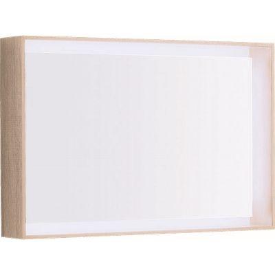 Geberit Citterio lustro 88x58 cm prostokątne z oświetleniem LED dąb beżowy 500.572.JI.1