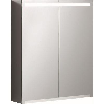 Geberit Option szafka 60 cm wisząca z lustrem i oświetleniem LED 500.582.00.1