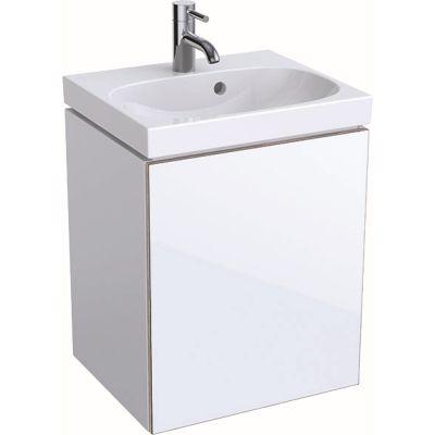 Geberit Acanto szafka 45 cm podumywalkowa wisząca biały połysk 500.608.01.2