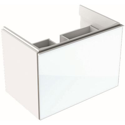 Geberit Acanto szafka 74 cm podumywalkowa wisząca biały połysk 500.611.01.2
