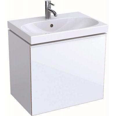 Geberit Acanto szafka 60 cm podumywalkowa wisząca biały połysk 500.614.01.2