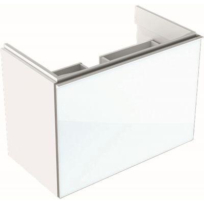 Geberit Acanto szafka 74 cm podumywalkowa wisząca biały połysk 500.615.01.2