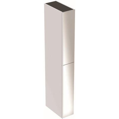 Geberit Acanto szafka 173 cm wisząca boczna biały połysk 500.638.01.2