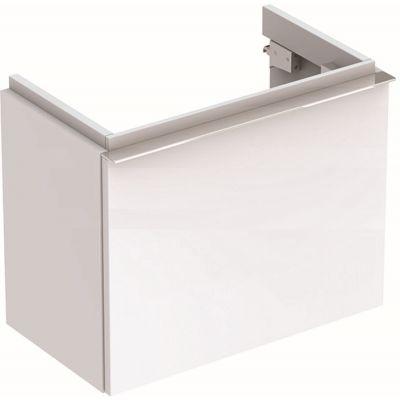 Geberit iCon szafka 52 cm podumywalkowa wisząca biały połysk 840052000