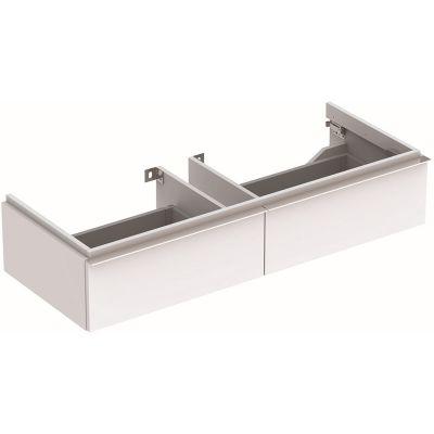 Geberit iCon szafka 119 cm podumywalkowa wisząca biały połysk 840120000