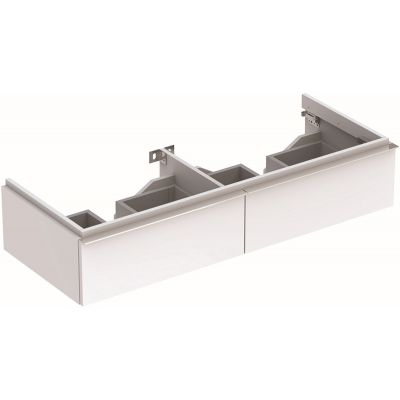 Geberit iCon szafka 119 cm podumywalkowa wisząca biały połysk 840220000