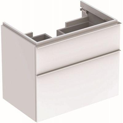 Geberit iCon szafka 74 cm podumywalkowa wisząca biały połysk 840375000