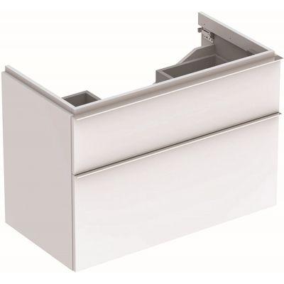Geberit iCon szafka 89 cm podumywalkowa wisząca biały połysk 840390000