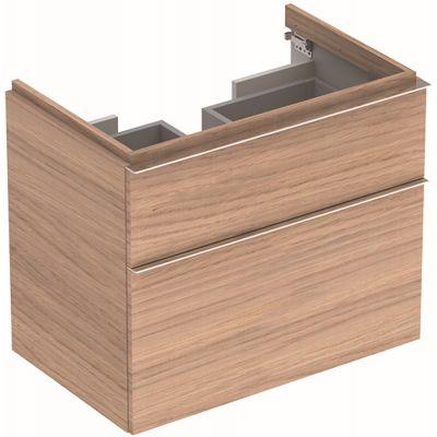 Geberit iCon szafka 74 cm podumywalkowa wisząca dąb naturalny 841377000