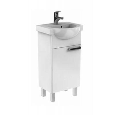 Koło Freja zestaw meblowy 45 cm umywalka z szafką biały połysk L79003000