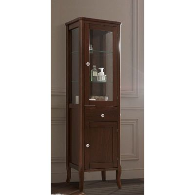 Kerasan Retro szafka boczna 160,5 cm słupek stojący orzech 731540
