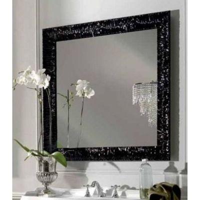 Kerasan Retro lustro 100x100 cm z ramą czarną 736401