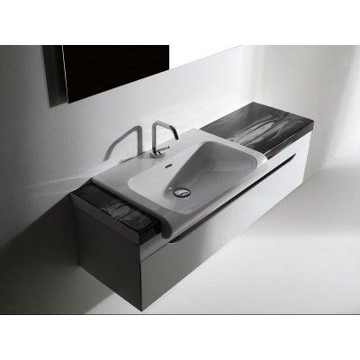 Kerasan Inka projekt szafka 120 cm podumywalkowa wisząca biała 911101