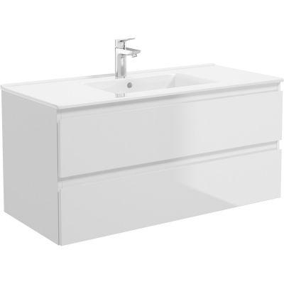 Oltens Vernal umywalka 101x46 cm meblowa prostokątna biała 41207000