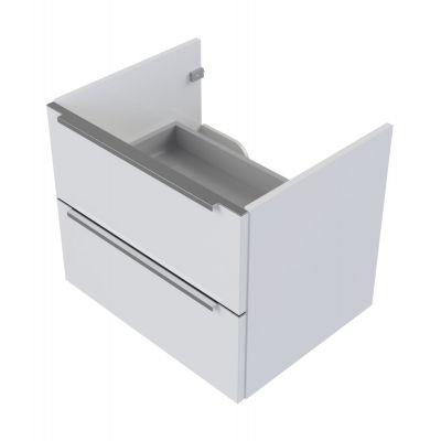 Omnires OmniDream szafka 50 cm podumywalkowa wisząca biały połysk SD-50BI
