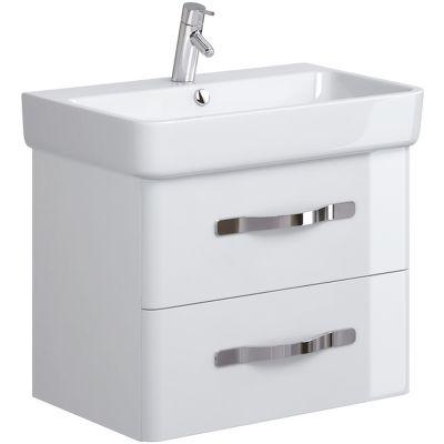Opoczno Urban Harmony szafka 70 cm podumywalkowa wisząca biała OS580-002