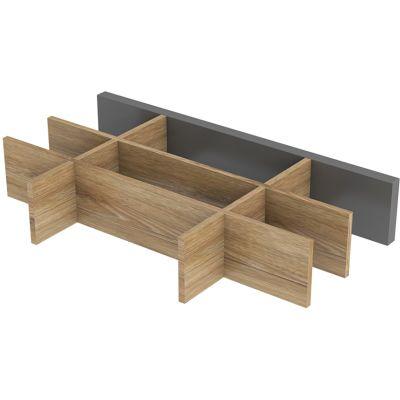 Oristo Uni organizer szuflady 20 cm dąb naturalny OR00-A-OR-20-80