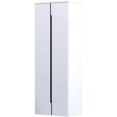 Oristo Silver szafka 50 cm wisząca boczna biały połysk OR33-SB2D-50-1
