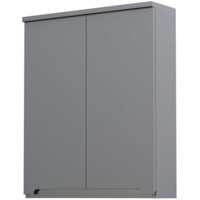 Oristo Silver szafka 60 cm wisząca górna szary mat OR33-SG2D-60-4