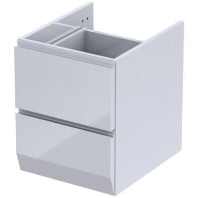 Oristo Brylant szafka 40 cm podumywalkowa wisząca biały/połysk OR36-SD2S-40-1