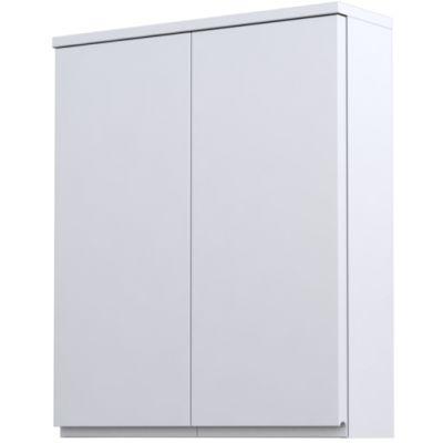 Oristo Brylant szafka 60 cm wisząca górna biały połysk OR36-SG2D-60-1